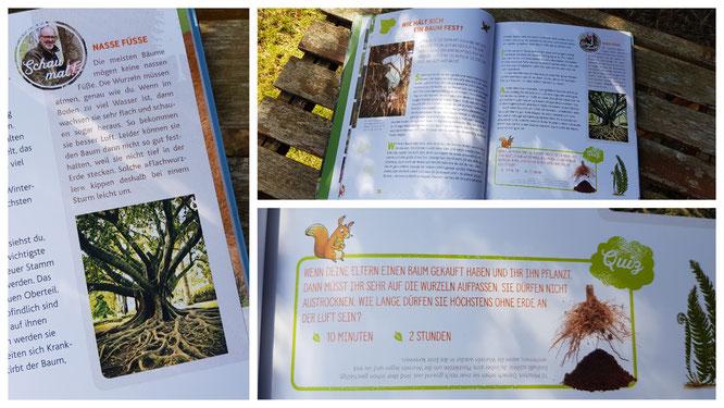 """Einblick in das Buch """"Hörst du, wie die Bäume sprechen?"""""""