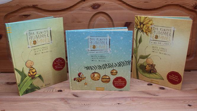 Die wundervollen Bücher der kleinen Hummel Bommel