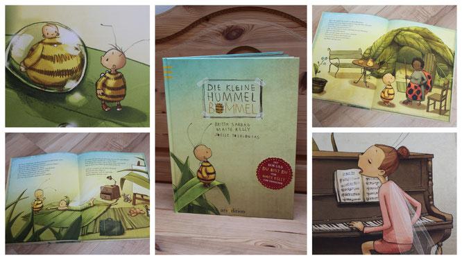 """Ein wundervolles Buch über Mut: """"Die kleine Hummel Bommel"""""""