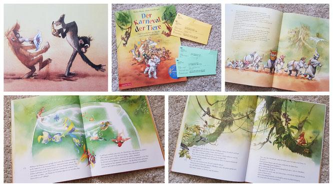 Der Karneval der Tiere - Das Buch