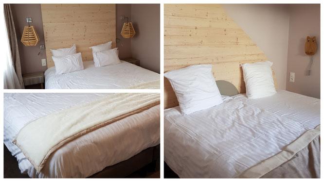 Die beiden Schlafzimmer in unserem Ferienappartement im Villages Nature Paris