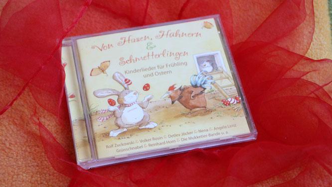 CD Von Hasen, Hühnern & Schmetterlingen - Kinderlieder für Frühling und Ostern