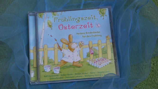 CD Frühlingszeit, Osterzeit - heitere Kinderlieder für den Frühling