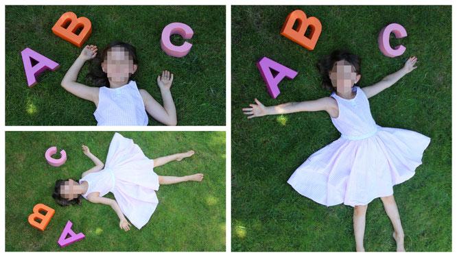 Unser Schulkind mit dem ABC
