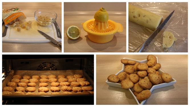 Wir backen Ingwer-Plätzchen nach einem Rezept aus Tilda Apfelkern