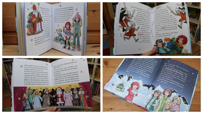 """Einblicke in das Buch """"Hexe Lilli rettet Weihnachten"""""""
