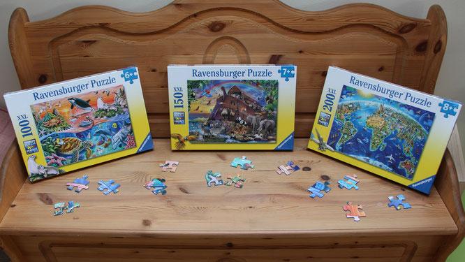 Ravensburger-Puzzle für Kinder von 6 bis 8 Jahren