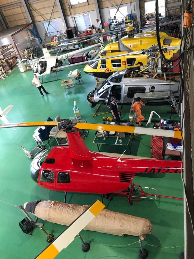 BK117 ヒューズ300、アグスタコアラ、R22、R44