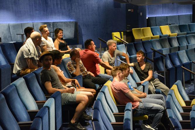 Der Cast von Breakin Mozart im Theater der MS3