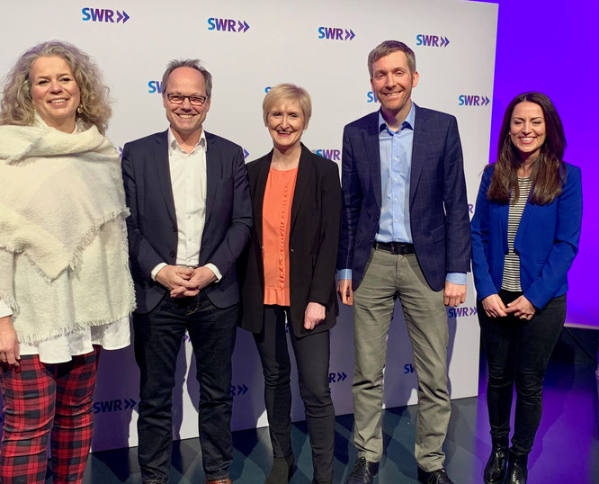 Foto: Lange - Die Führungsriege des SWR bei der Jahrespressekonferenz