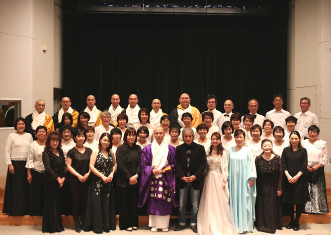 松島龍戒 声明コンサート 声明コンサート 防野宗和 のほとけの散歩道