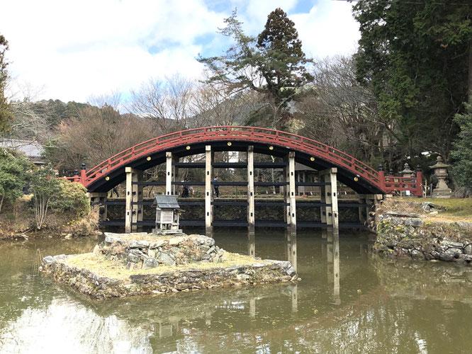 丹生都比売神社の輪橋