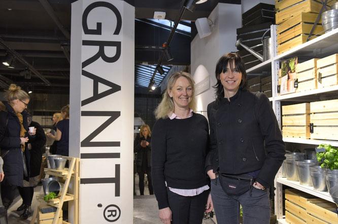 GRANIT-Geschäftsführerin Katarina Grapengiesser mit GRANIT-Gründerin Anett Jorméus im neuen Store