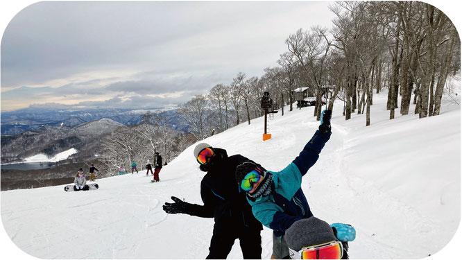 たんばらスキーパークは初心者に滑りやすいスキー場