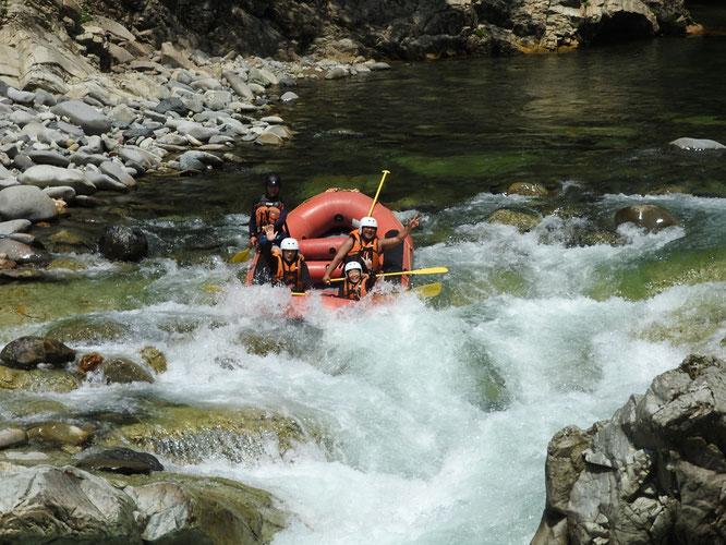 本日の水上諏訪峡