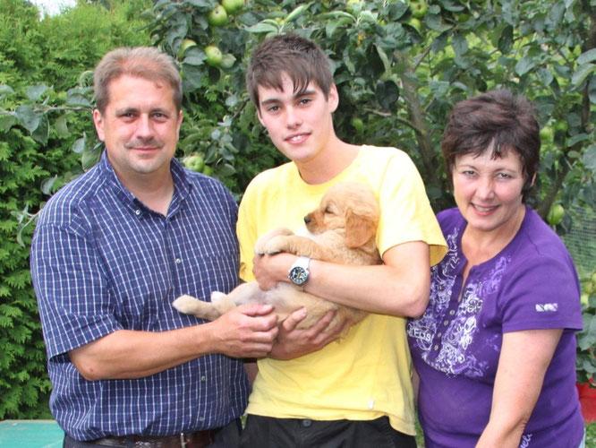 Familie Gisecke mit Kim