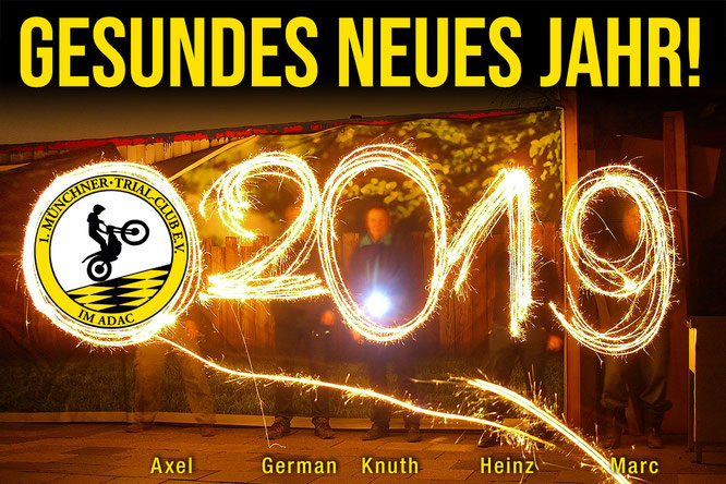 Gesundes neues Jahr 2019!