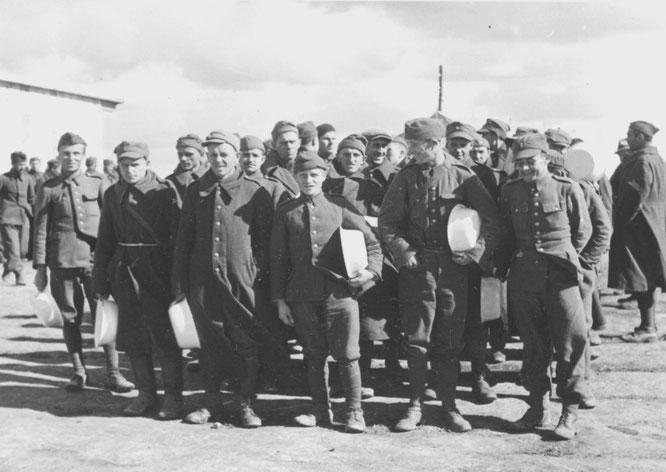 Kriegsgefangenenlager Stalag VIIIa in Görlitz-Moys
