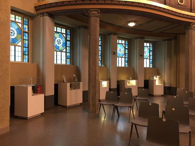 Stolpersteine Görlitz-Zgorzelec, Ausstellung im Kuppelsaal, Kulturforum Synagoge