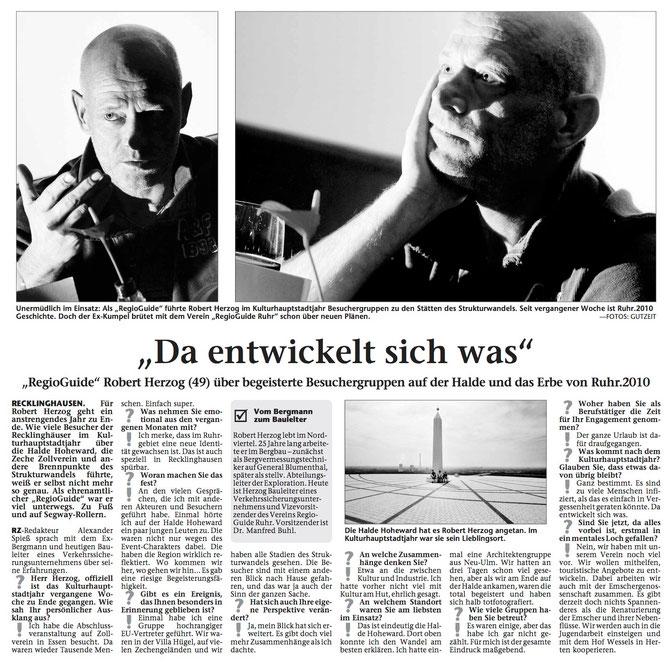 Recklinghäuser Zeitung 23.12.10