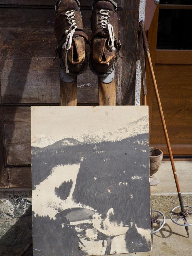 Confinement, rangements... nous avons ressorti cette photo de la Gélinotte et de Freydières au temps... du téléski ! (dans les années 60... ?)