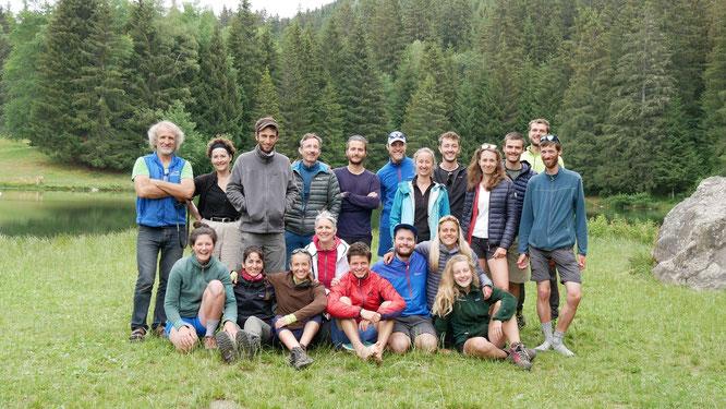 L'éco-traversée de Belledonne s'est terminée ce weekend dans la bonne humeur et l'émotion, après une semaine de randonnée au départ de Fond-de-France et jusqu'à la Gélinotte de Freydières !