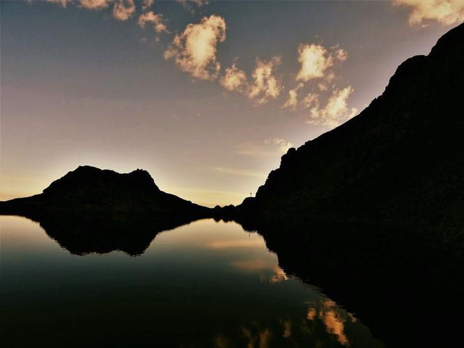 """Au départ de Freydières, à 2000m, le Lac du Crozet vu par """"Réponse des Hauteurs"""". Merci à toi !"""