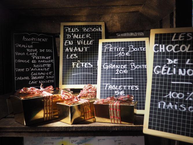 ATTENTION : c'est déjà l'avant dernier weekend pour déguster et pour offrir les chocolats faits à Freydières !  Après ce sera trop tard !