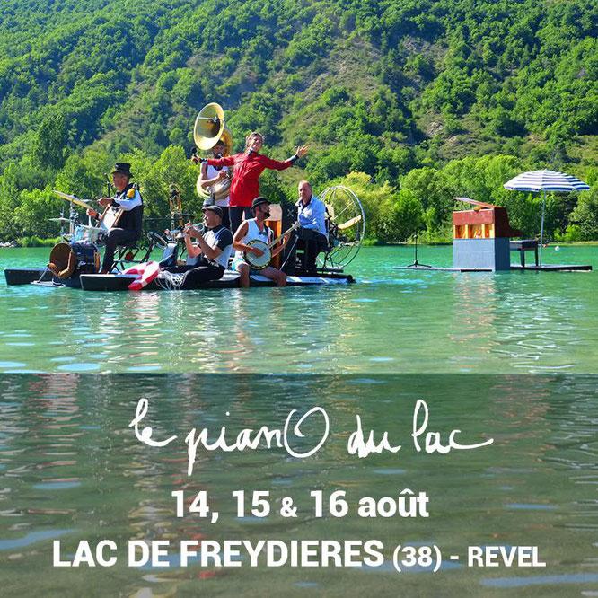 Piano du Lac c'est dans 10 jours. Nous les accueillerons les dix artistes à la Gélinotte. Attention, réservation indispensable. Le lien en un clic sur la photo !