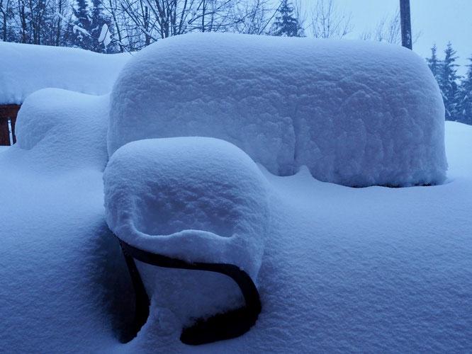 Réveil... presque sous la neige !