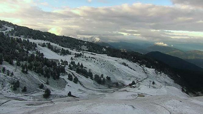 Ce matin vers 1900m en Belledonne (ici le haut de Casserousse).
