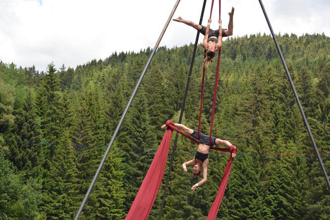 """Le festival """"Belledonne en cirque"""" de Freydières reporté (ou annulé). Voir le billet ci-dessus."""