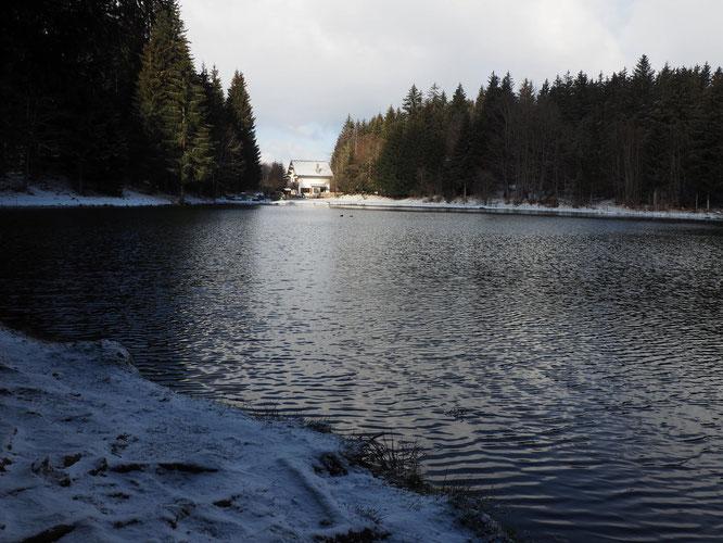 Notre lac de Freydières, hier...