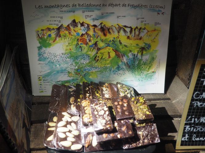 Les chocolats 100% maison de la Gélinotte sont disponibles à partir de ce weekend à Freydières. Merci à Tim notre pâtissier et à toute l'équipe !