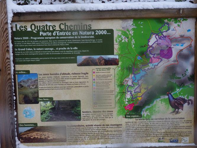 Freydières, porte d'entrée dans Belledonne et son site Natura 2000 (2700 hectares de milieux montagnards) !