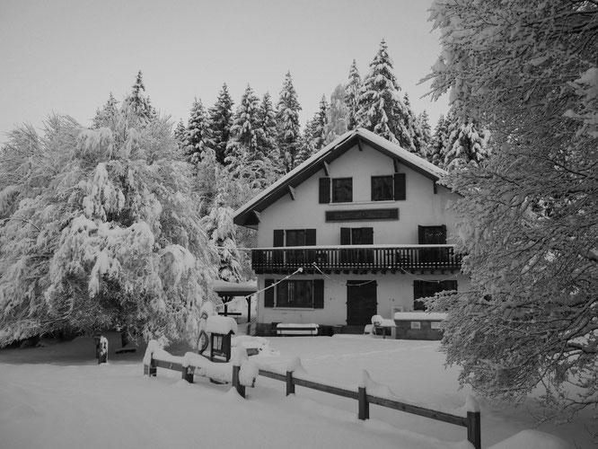 C'était le 4 décembre, depuis le redoux est passé par là mais ce vendredi de Noël il devrait neiger de nouveau à Freydières !  On l'attend avec impatience !