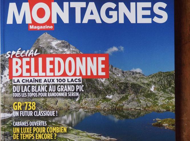 Le très beau numéro spécial Belledonne de Montagnes Magazine est toujours en kiosque. N'hésitez pas une belle invitation à voyager dans ce très chouette et grand massif !