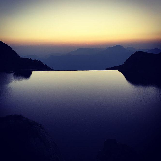 Merci Juro Chumond pour ce Lac du Crozet. En Belledonne au départ de Freydières.