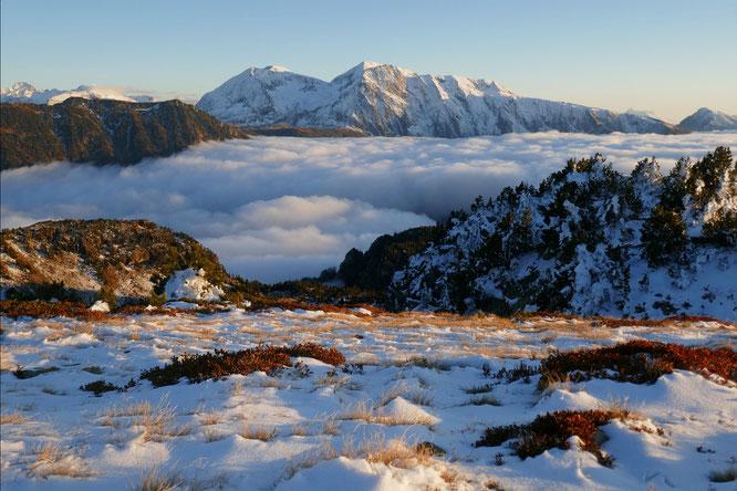 Ambiance actuelle en altitude depuis Belledonne. Merci Ulric Thr pour la photo !