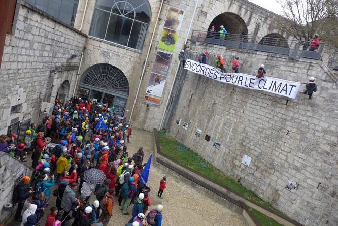 Hier à la bastille de Grenoble (voir post ci-dessus)
