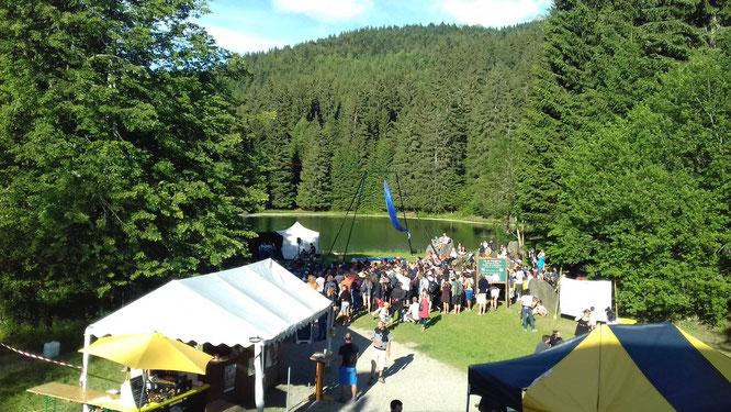 Le festival Belledonne en Cirque ouvre ses portes demain, samedi midi !