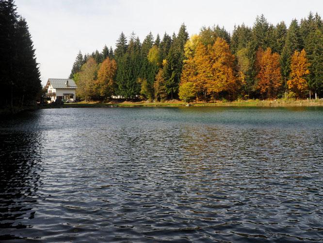 Ce weekend, Freydières, son lac, sa Gélinotte avec des couleurs d'automne !