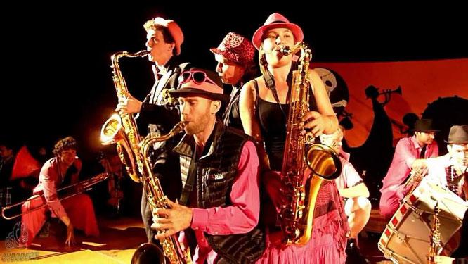 L'événement de ce mois de juillet: trois fanfares de Grenoble ensemble à Freydières ! C'est ce soir à partir de 18h30 !