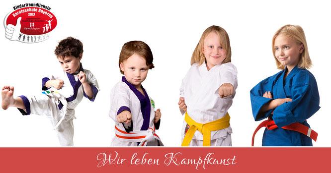 Das Lil Dragon Programm für 3 Jährige in der TOWASAN Karate Schule Markt Schwaben