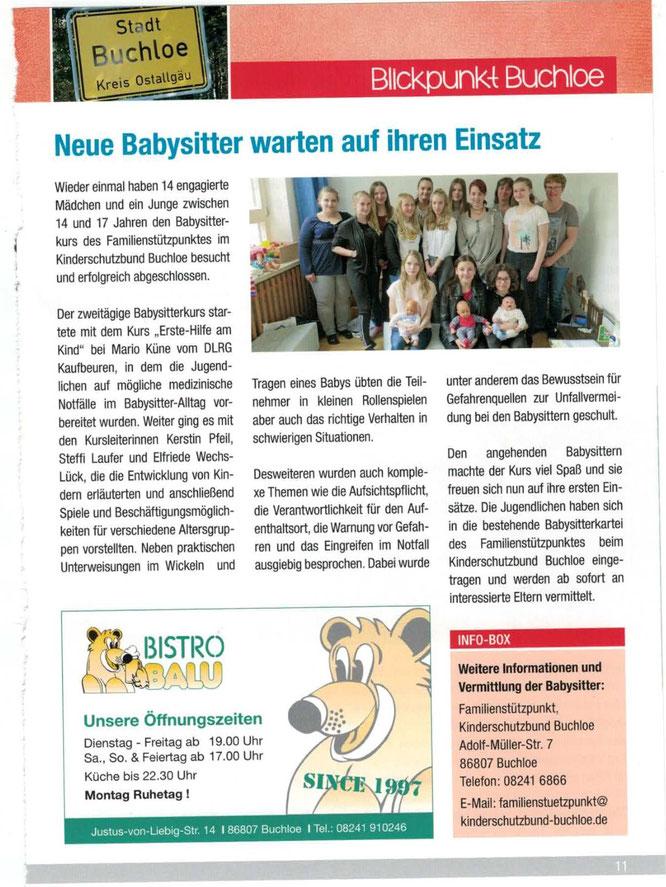 """Juni-Ausgabe """"Buchstäblich"""""""