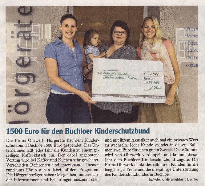 Buchloer Zeitung am 03. Juni 2017