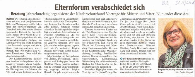 Buchloer Zeitung am 30.10./01.11.2015