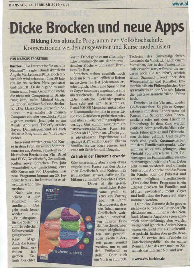 Buchloer Zeitung - 12.02.2019