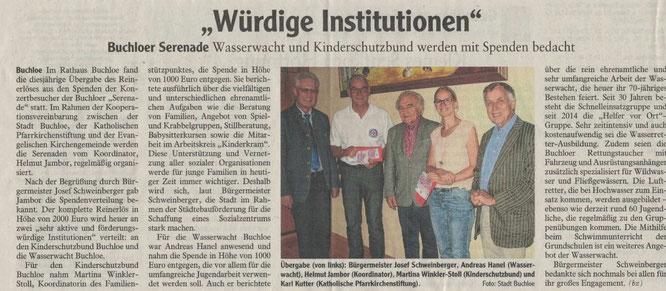 Buchloer Zeitung am 16.06.2018
