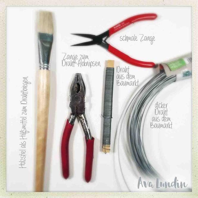 Werkzeug und Material Toasterhasi